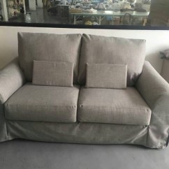 Old Ikea Chair Covers Revolving Without Back Tidafors Sofa Slipcover Hack