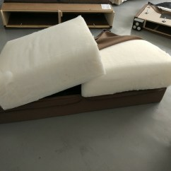 Foam For Sofa Seat Cushions Axiom Walnut Leather Ikea Tidafors Slipcover Hack
