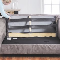 How To Fix A Sofa Spring Size Canvas Wall Art Sagging Couch Restore Cushions Comfort Works