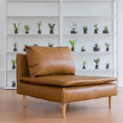 Reupholster Sofa In Leather Really Cheap How To A Comfort Works Blog Design Ikea Soderhamn Slipcover Savannah Saddle