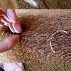 How To Fix Tear Leather Sofa Gothic Sofas For Sale The Best Way A Torn - Comfort Works Blog ...