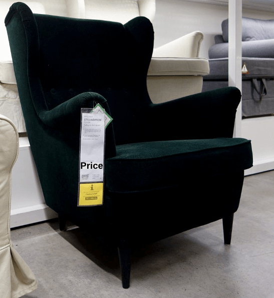 strandmon wing chair review french provincial and ottoman the complete ikea armchair comfort works blog price