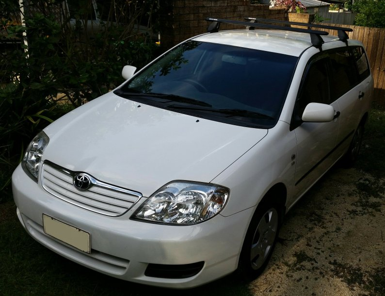 2004 Toyota Corolla Ascent Wagon Comfortably Lost
