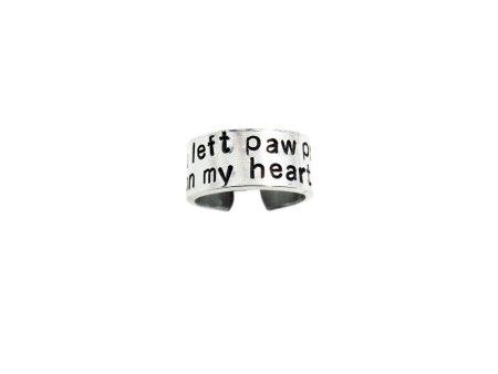 paw print on my heart
