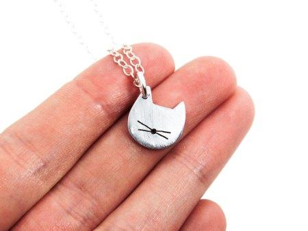 cat head charm