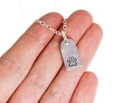 paw print jewelry