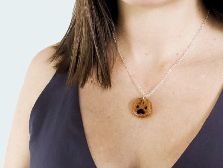 paw print memorial jewelry