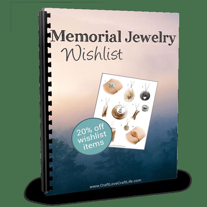 memorial jewelry wishlist