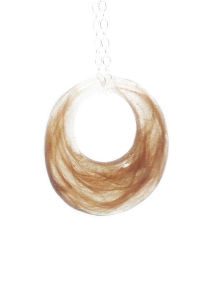 hair keepsake necklace