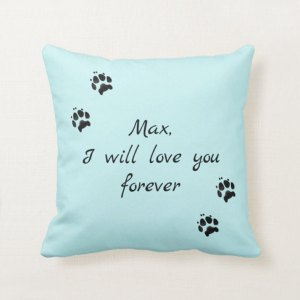 pet loss pillow