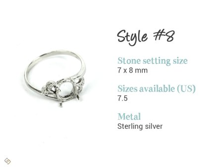 hair locket ring