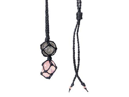 healing crystal memorial necklace