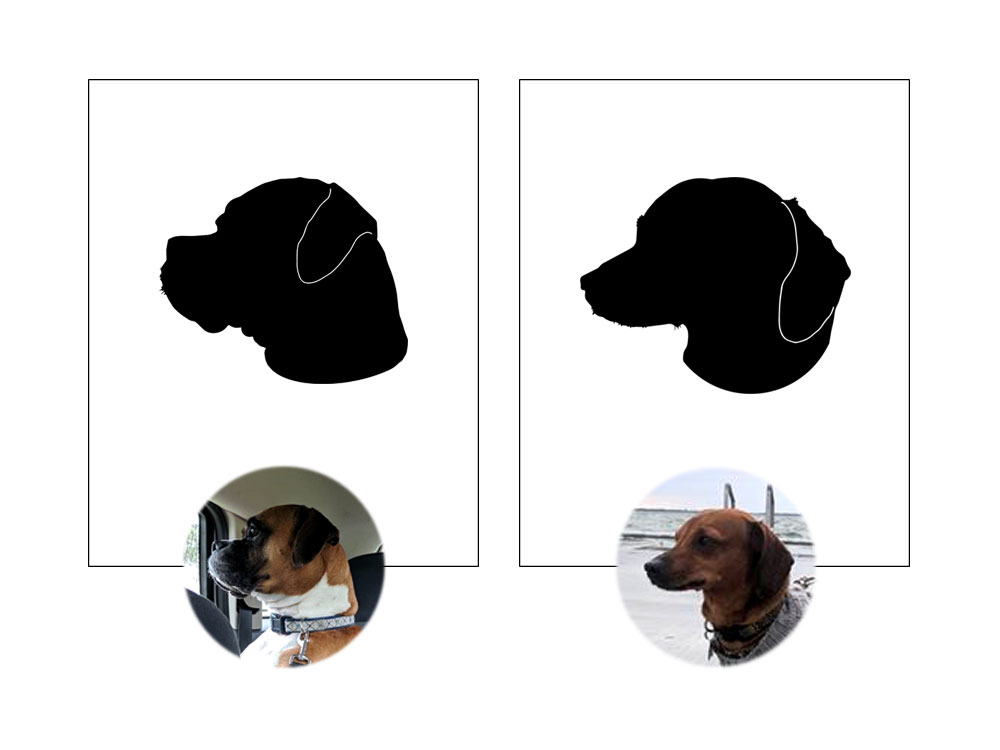 Custom Pet Silhouette