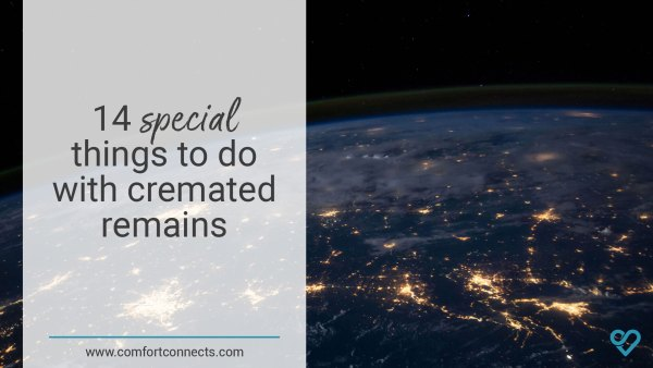 Read more about the article 14 special things to do with cremated remains