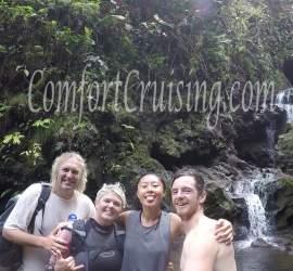 Wade, Sara, Jackie, and Ryan Lava Tube Hike