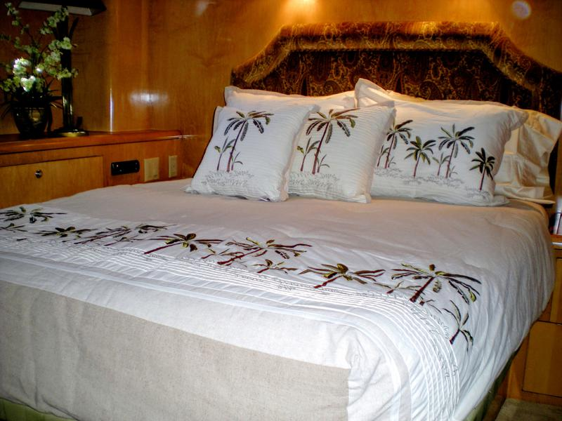 Custom Bedding  Comfort Custom Mattresses  Marine Bedding