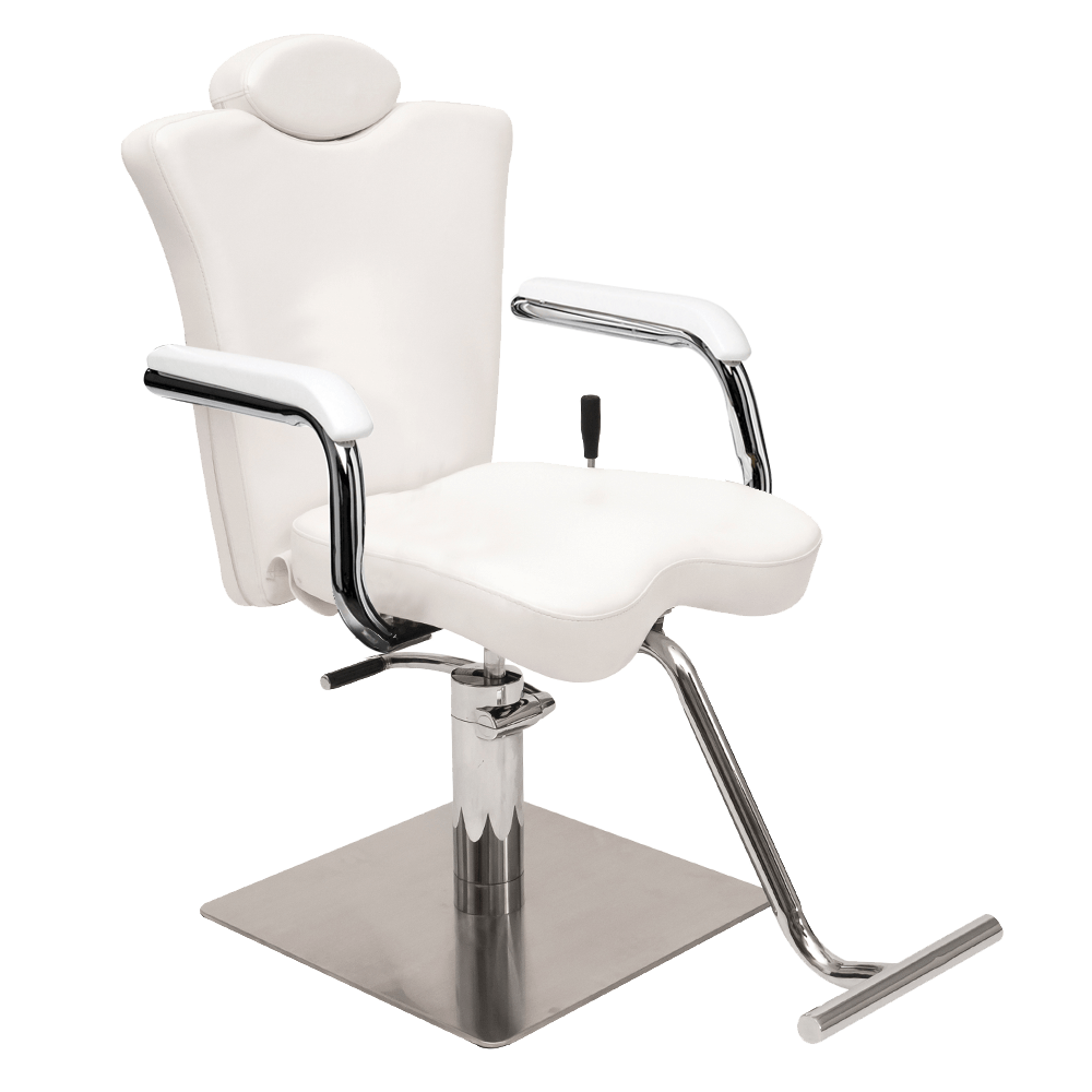 Cindy Reclining Make Up Chair  White  Comfortel New Zealand