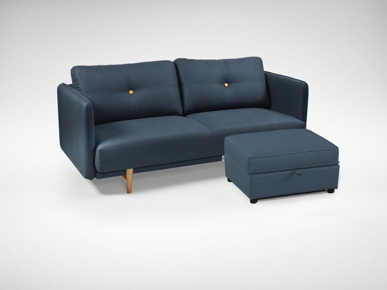 dark blue sofa table designs for drawing room in india bruffon 3seater comfort design the