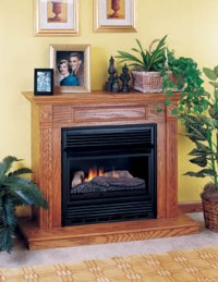DESA INTERNATIONAL VENT FREE GAS LOGS FIREPLACES  Fireplaces