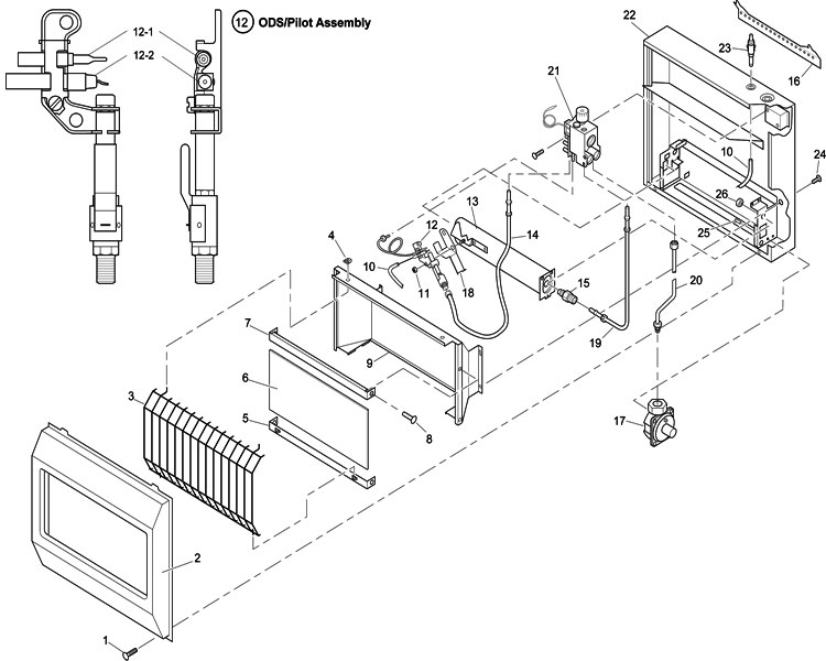 Williams Wall Furnace Wiring Diagram Williams Wall Heater