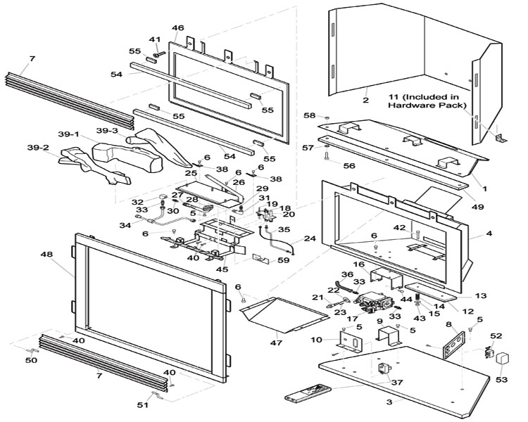 Gas Fireplace Components