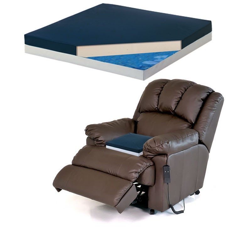 Recliner Seat Gel Cushion for Lazy Boy Style and Lift Chairs