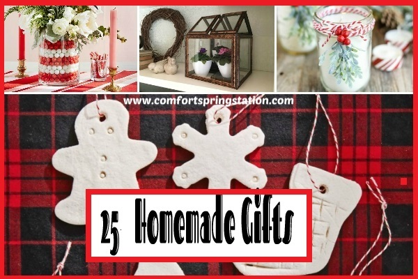 25 Homemade Gifts, featured at Funtastic Friday 11.27.2020