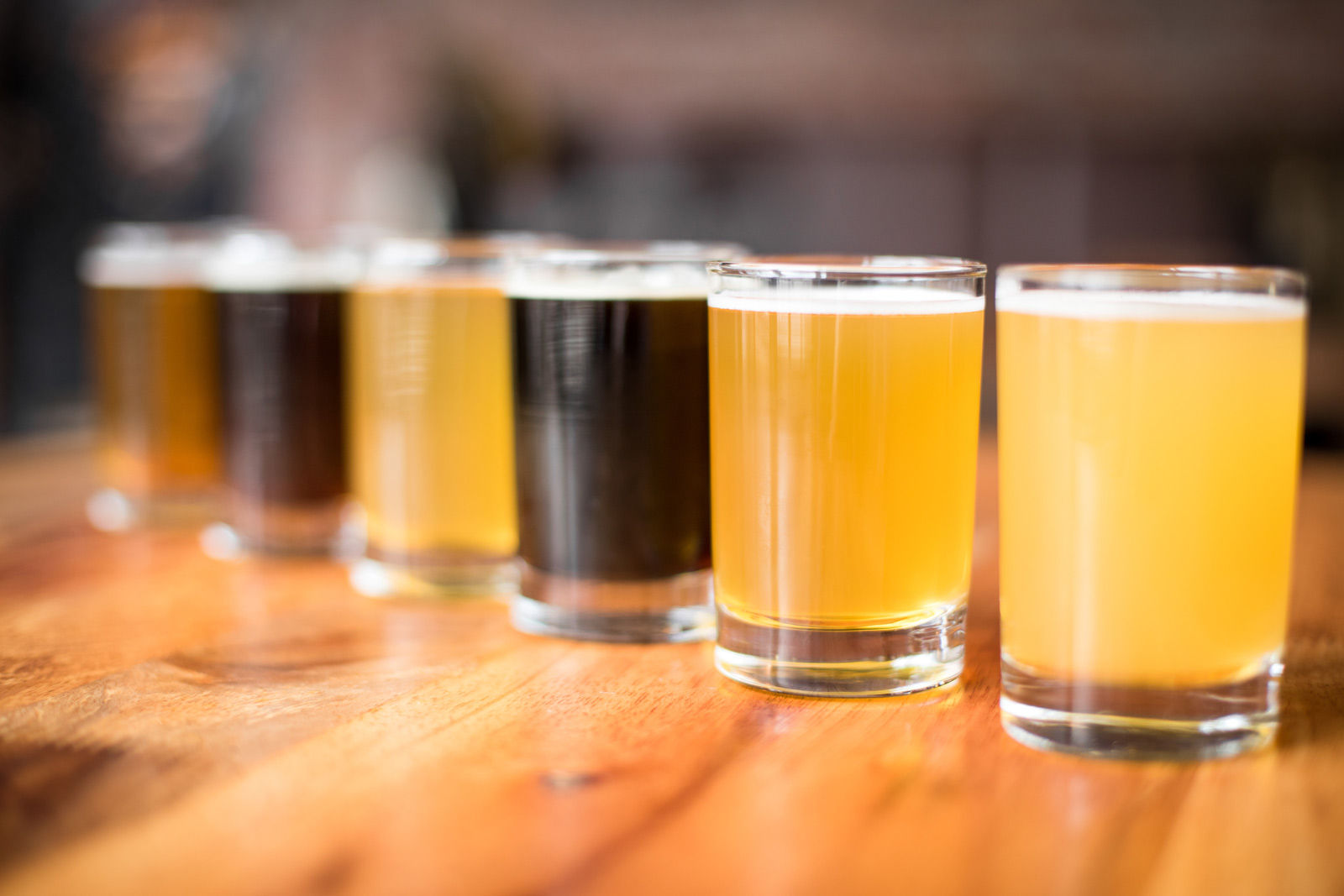 hight resolution of sample a flight from the many craft breweries from your saskatoon hotel