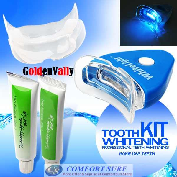 FREE GIFT  White Light Tooth Teeth Whitening in just 10
