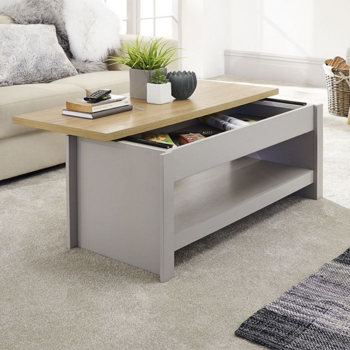 larry sliding top coffee table