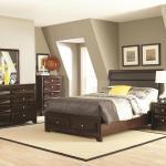 Jaxson King Size Bed 203481ke Coaster Furniture King Size Beds Comfyco Furniture
