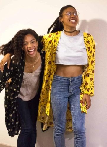 Long Distance Friendship Reunion | Ride or Die | BFF | Care Free Black Girls | TildaKimono | Handmade Kimono Robes