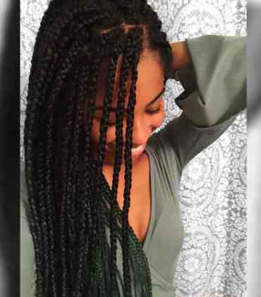 Ombre Box Braids | Protective Style