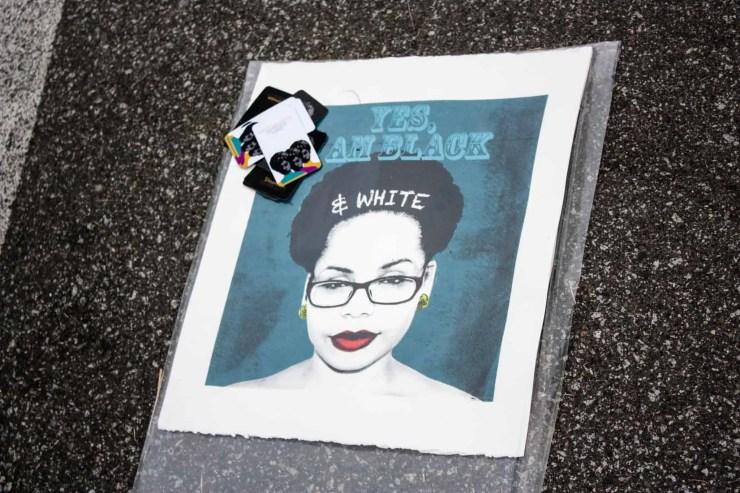 Yes, I am Black and White - Veronica Dorsett   VoDorsett
