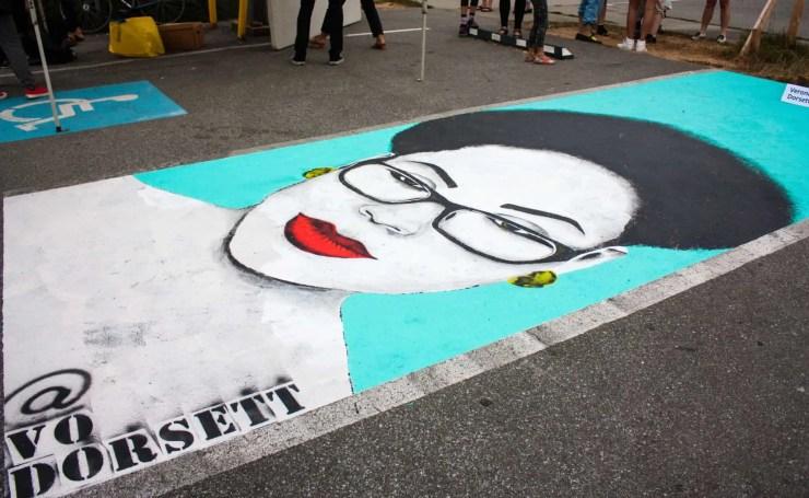 Veronica Vo Dorsett | Vancouver Mural Festival | Black Art