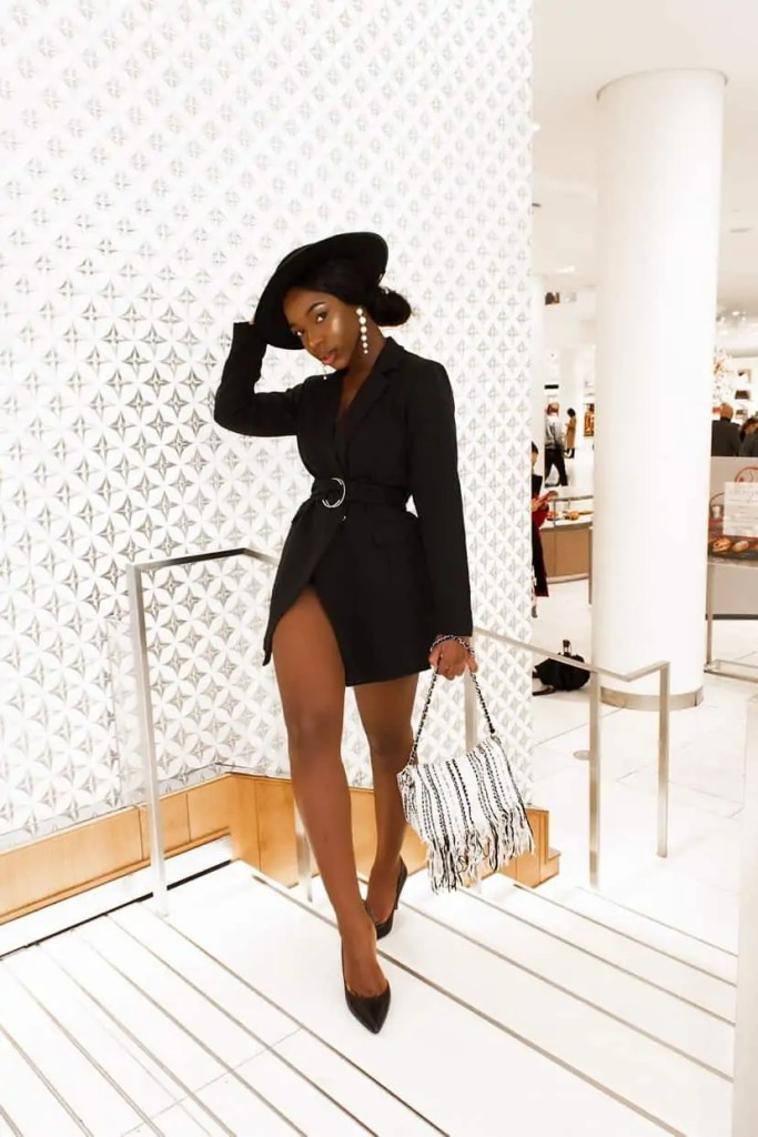 Ife Iranloye of @iife_i is a Vancouver-based Black Fashion Content Creator/ influencer.