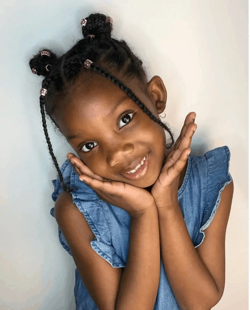 Kyra Milan is a little Naturalista. Kid Youtuber and Content Creator.