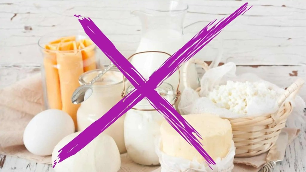 Pimples Before Period? Say no to Dairy if you are trying to prevent period acne, and cystic hormonal break outs due to menstruation.