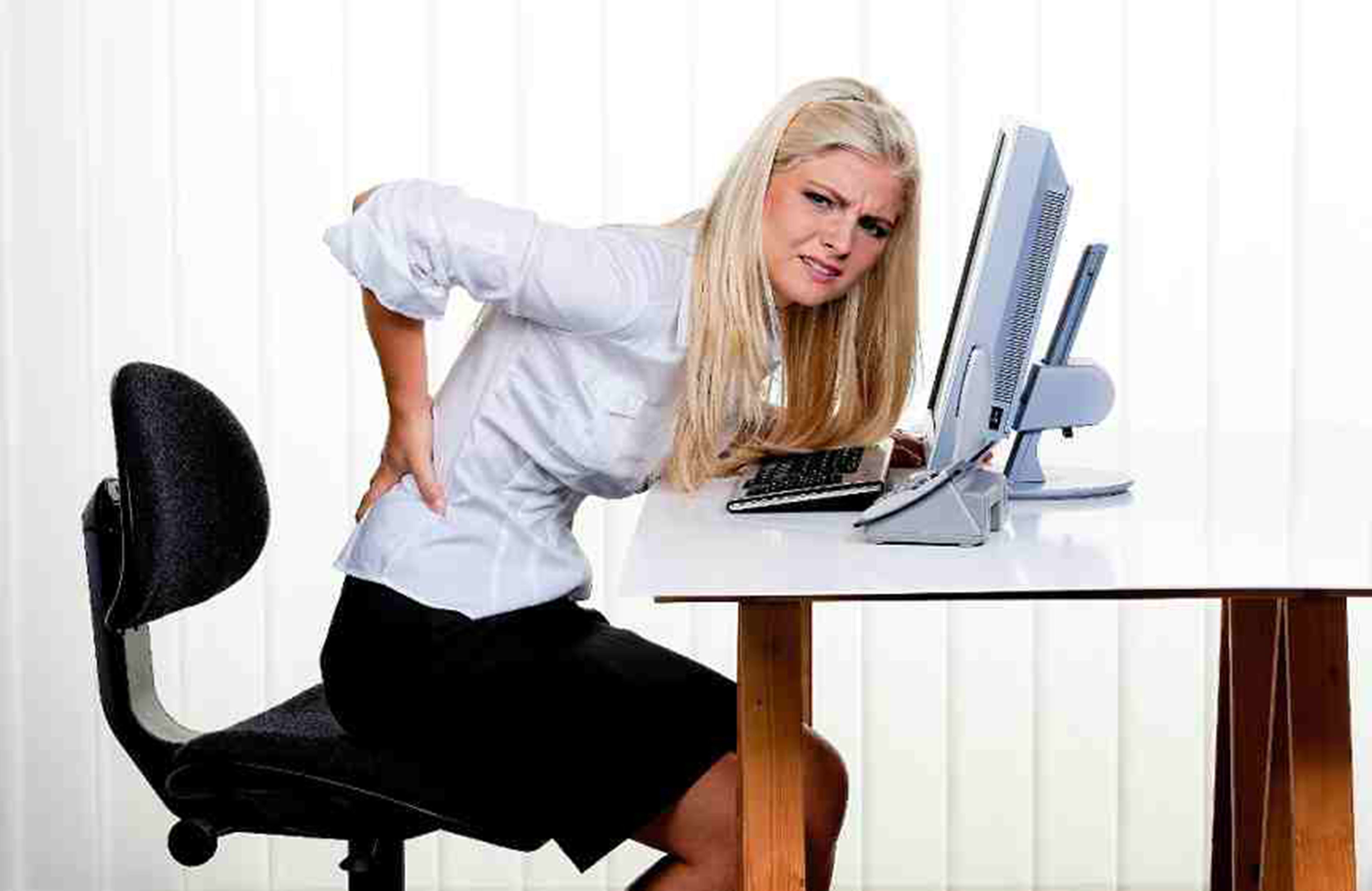 office chair you sit backwards desk with arms no wheels why a good prevents stress on your body