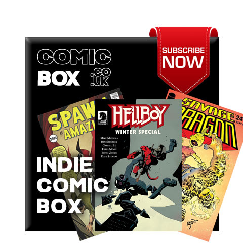 Mystery Indie Comic Box