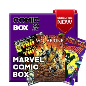 Mystery Marvel Comic Box