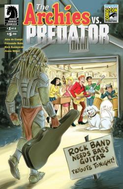 Archie vs. Predator #1 San Diego Comic-Con International Exclusive Variant Cover by Colleen Coover
