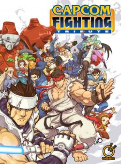 CAPCOM Fighting Tribute - Exclusive Hardcover with Cover Art by Long Vo