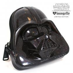 Darth Vader Black Glitter 3D Coin Bag
