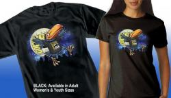 "Comic-Con International 2015 Toucan ""Moon"" Official T-shirt"