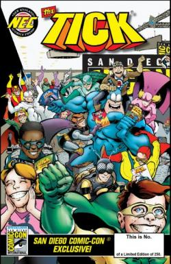 The Tick: SDCC 2015 Exclusive Comic (Regular Cover)