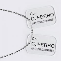 Aliens: Colonial Marines Ferro Dog Tags