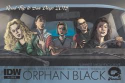 SDCC Exclusive Orphan Black Comic Book