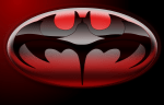 Batman & Robin Logo Wallpaper