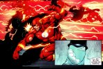 the flash beats people up